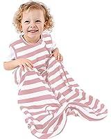 Organic Cotton Baby Sleep Bag or Sack , Infant Sleeping Bag Wearable Blanket, 0-3 Years