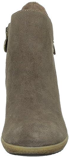 Geox Donna Karma Stiv, Boots femme - Taupe (C6692), 40 EU