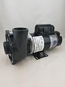 Waterway Plastics 3420610-1A 1.5 Horsepower 115 Volts 2-Speed 2 Inch x 2 Inch 48 Frame Executive Spa Pump Side Discharge