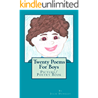 Twenty Poems For Boys: Picture/ Poetry Book (English Edition)