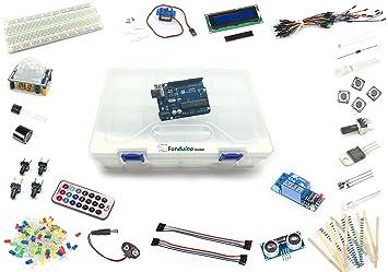 Funduino Kit Uno 3 Arduino Compatible Starter Kit Amazon Co Uk
