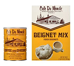 Cafe Du Monde Coffee & Chicory and Beignet Mix Set