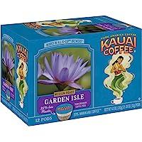 Kauai Coffee Single-Serve Pods, Garden Isle Medium Roast – 100% Arabica Coffee from Hawaii's Largest Coffee Grower…