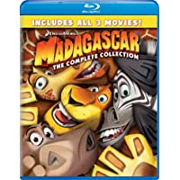 Deals on Madagascar: Complete Collection 1-3 Blu-ray