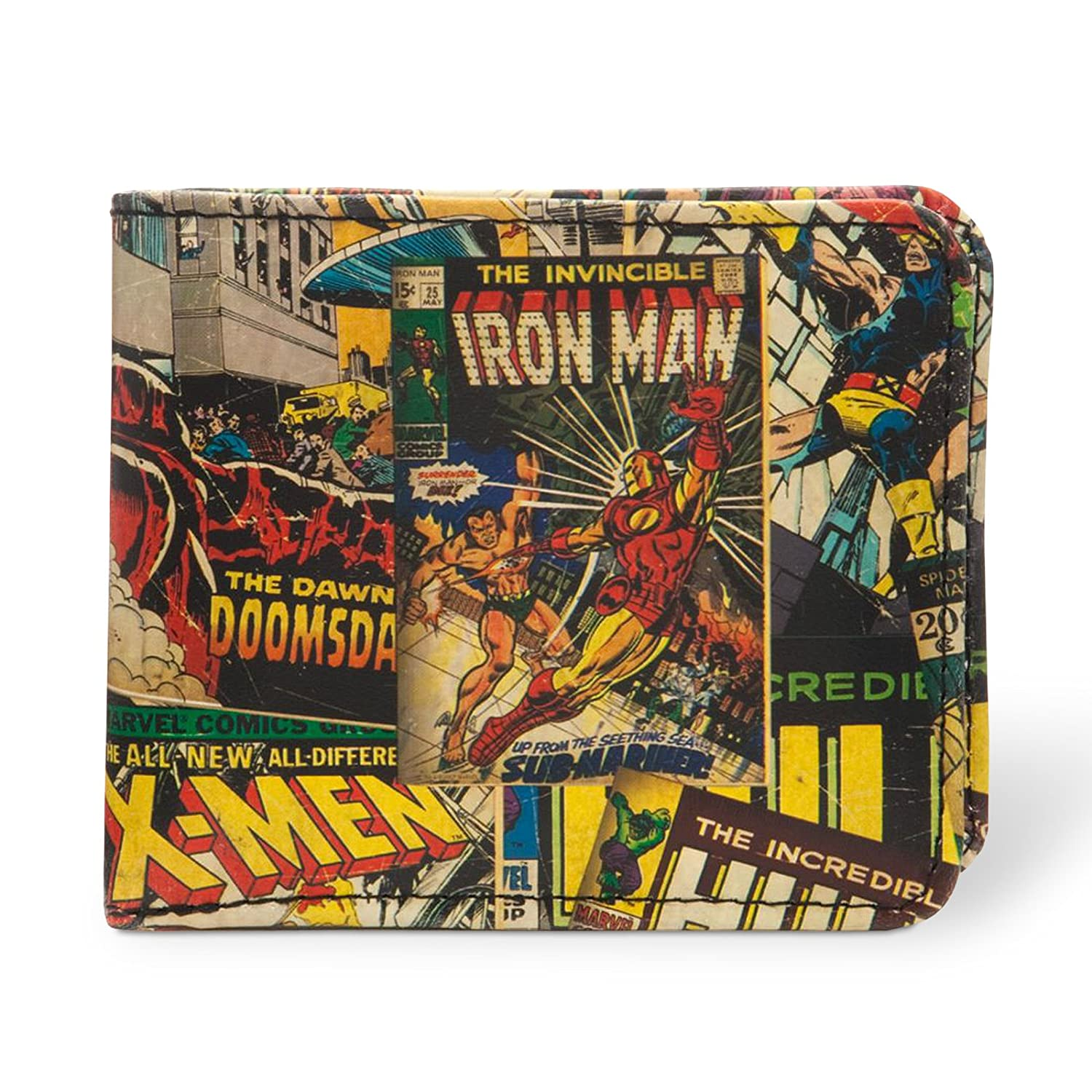 Marvel Comics - cartera de superhéroes - billetera y ...