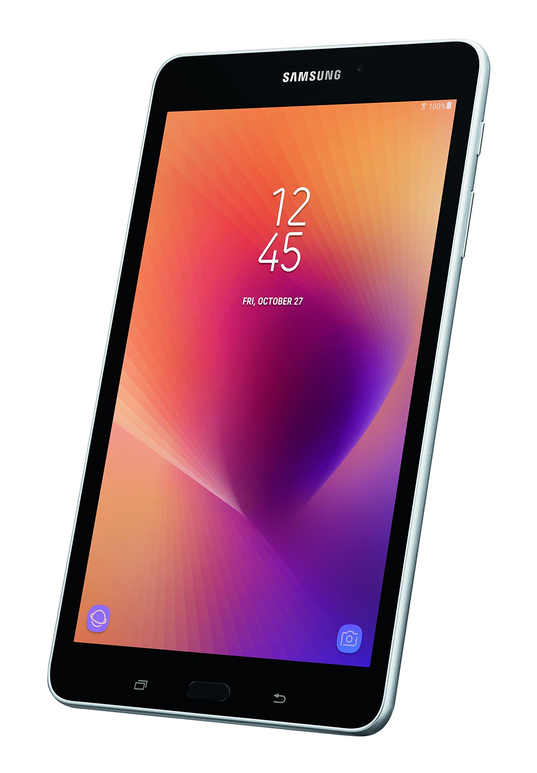 Samsung Galaxy Tab A 8'' 32 GB Wifi Tablet (Silver) - SM-T380NZSEXAR by Samsung
