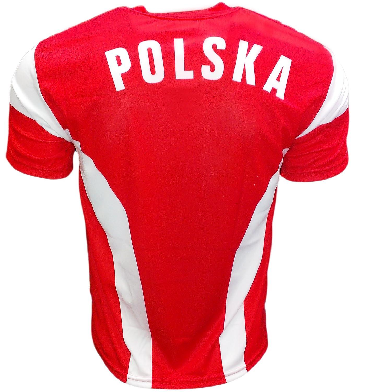 Youth Robert Lewandowski Polska Soccer Jersey Polish Pride Poland . ae4cfdff0