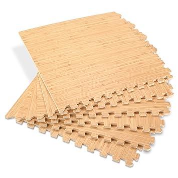 Amazon Forest Floor 58 Thick Printed Wood Grain Interlocking