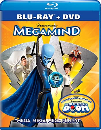 Poster of Megamind 2010 Full Hindi Dual Audio Movie Download BluRay 720p