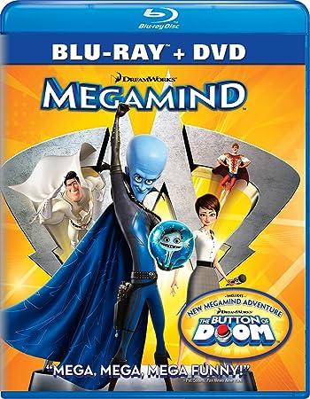 Poster of Megamind 2010 Full Hindi Dual Audio Movie Download BluRay 480p