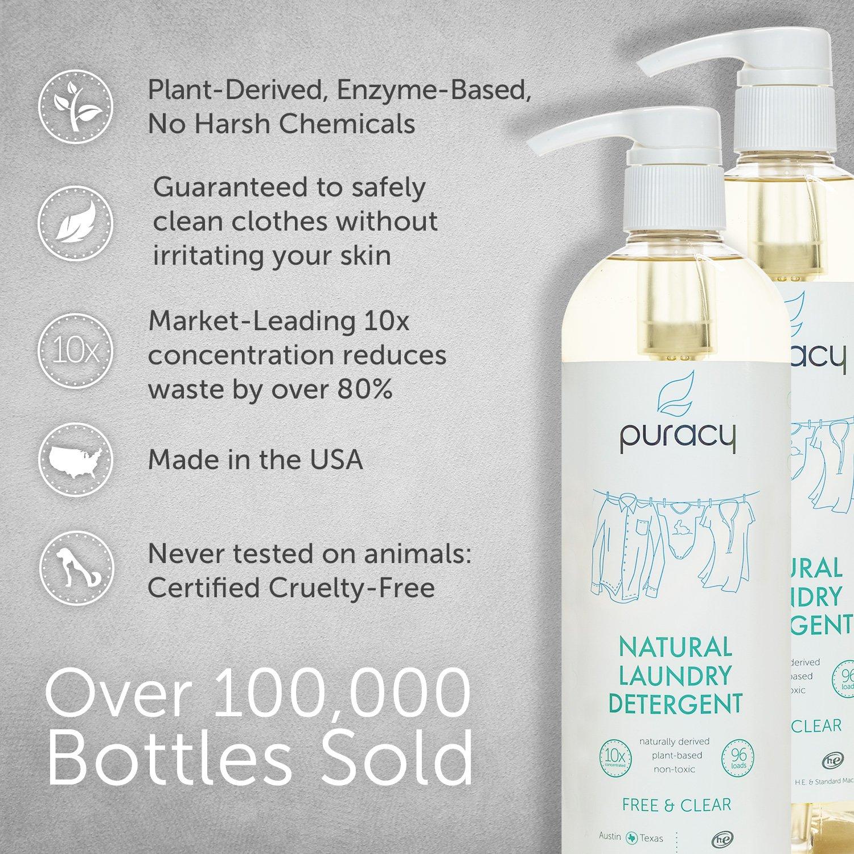 Puracy Natural Liquid Laundry Detergent 192 Loads