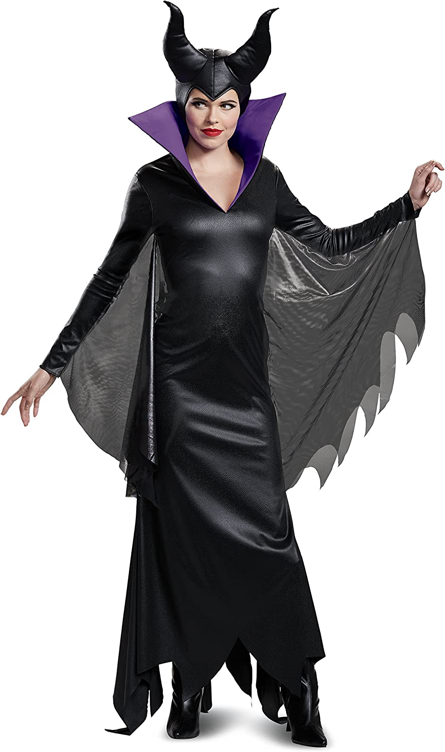 Disguise Women's Maleficent Deluxe Adult Costume