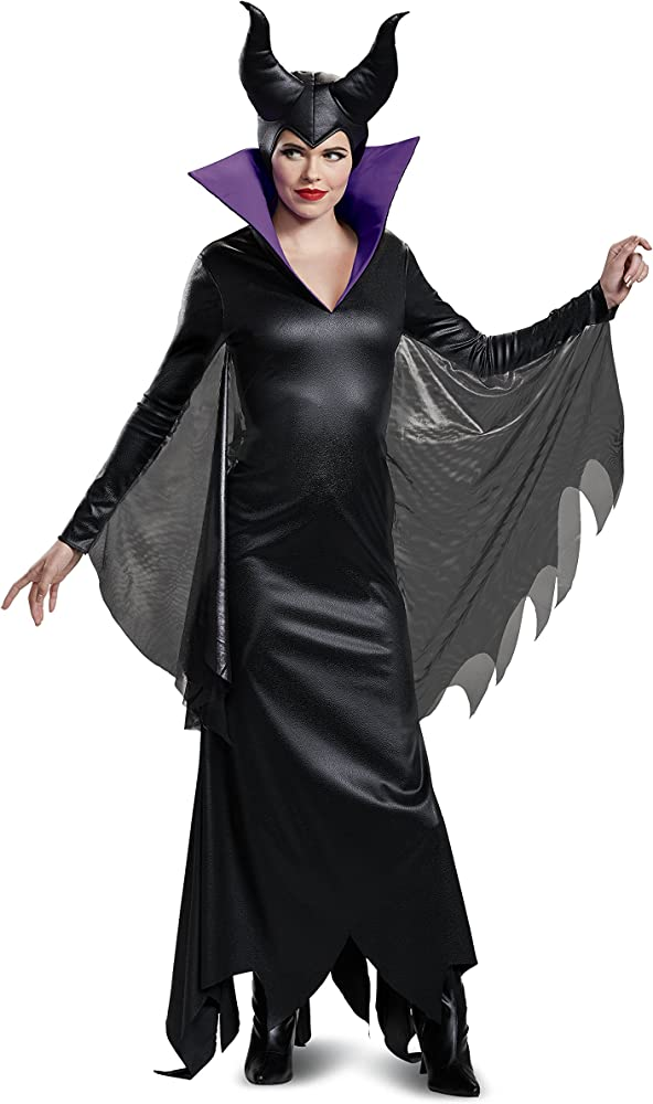 Disguise Womens Disney Maleficent Movie Maleficent Deluxe Costume Horns