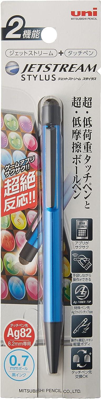 Uni Jetstream Stylus Single knock Ballpoint Pen Touch 0.7mm SXNT82-350-07 4 Type
