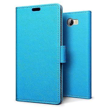 SLEO Funda para Huawei Y6 II Compact/Huawei Y5 II Cartera ...