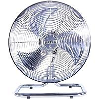BRISA Ventilador Semi-Industrial de Piso Modelo MO-18, 100% Metálico, Inclinación Ajustable, Oscilatorio, Motor con…