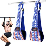 DMoose Ab Straps for Abdominal Muscle Building, Arm Support for Ab Workout, Hanging Ab Straps for Pull Up Bar Attachment, Ab