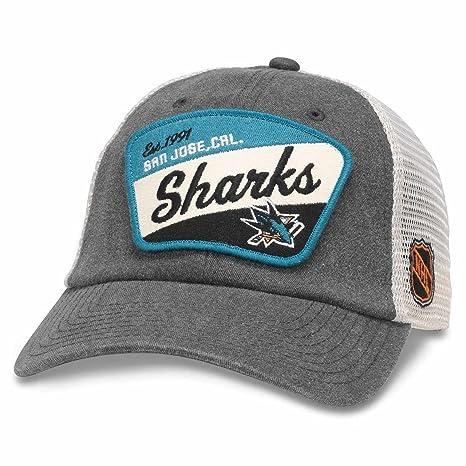 Amazon.com   San Jose Sharks Adult NHL Ravenswood Adjustable Hat ... 16fd7eca1