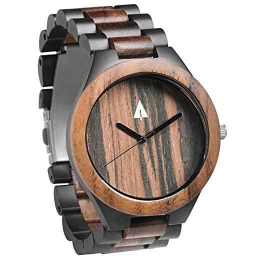 Mens Treehut wood watch