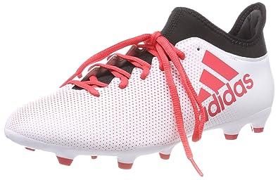 timeless design c2bfc d9e08 adidas X 17.3 Fg, Scarpe da Calcio Uomo, Bianco FtwwhtReacorCblack