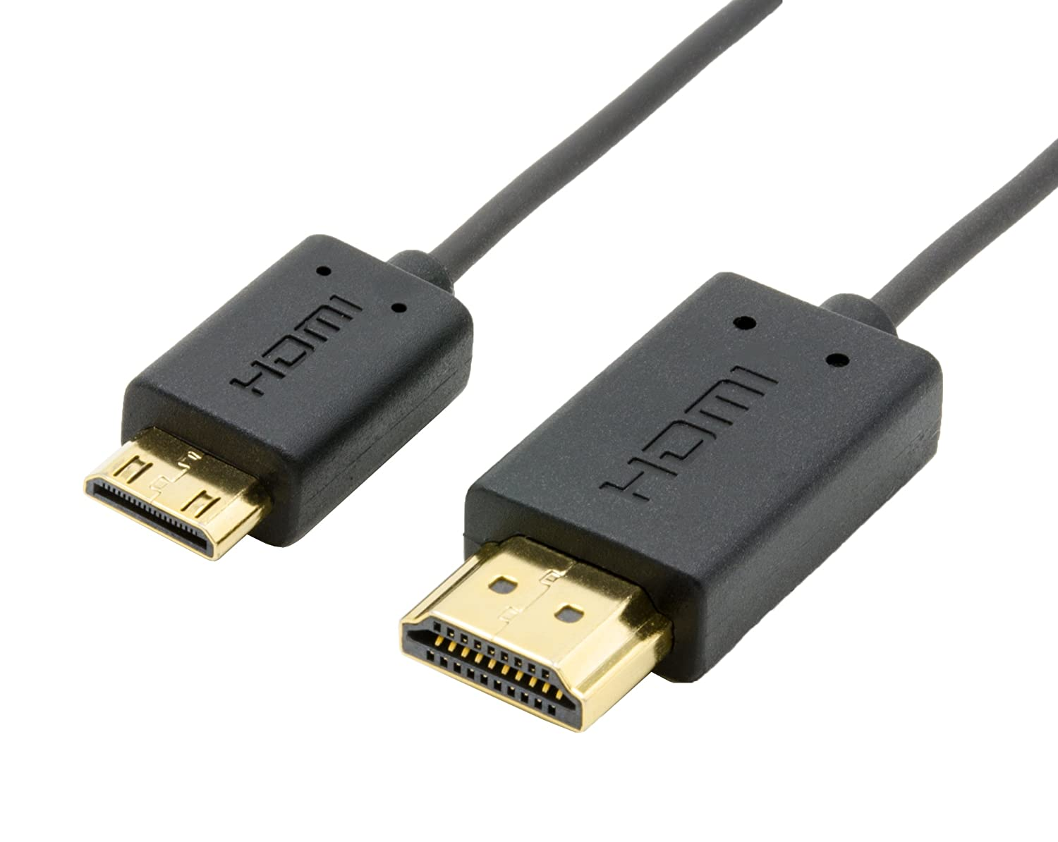 Cable Hdmi A Mini Hdmi 0.8m Ultra Fino 4k 1080p Nanosecond