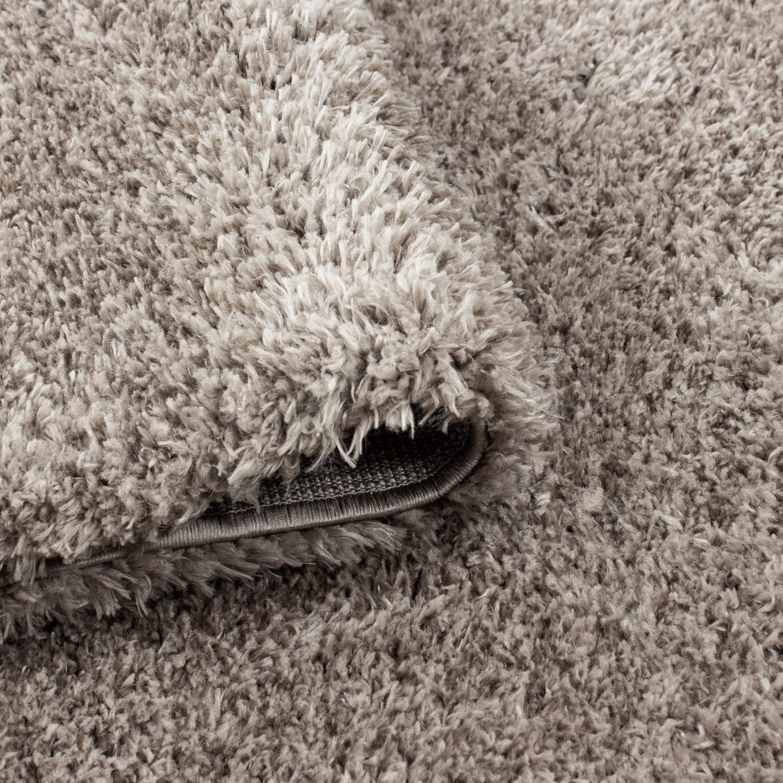 Hochflor Schaffell Shaggy Teppich Langflor einfarbig kuschelig 45 mm mm mm Florhöhe, Farbe Beige, Maße 240x340 cm B07GSL1D39 Teppiche 231831