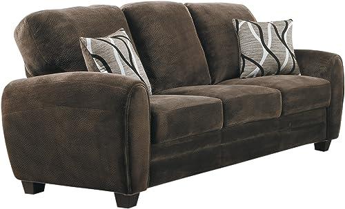 Homelegance Rubin 85″Plush Fabric Sofa