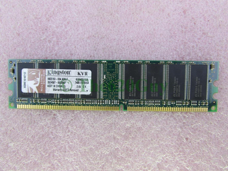 Kingston Technologies 1GB DDR SDRAM Desktop Memory KVR400 1GR At