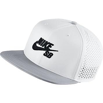 Nike U Nk Cap Trucker Gorra, Hombre, (Blanco/Wolf Grey Negro), Talla Única: Amazon.es: Deportes y aire libre