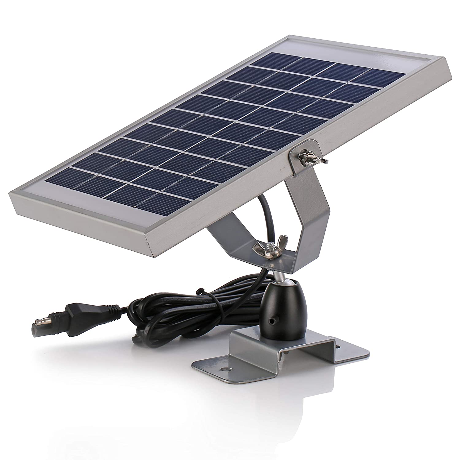 SUNER POWER Waterproof Deer Feeder Solar Battery Trickle Charger and Maintainer 6V