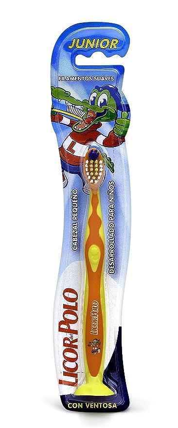 Licor del Polo Cepillo JUNIOR Forma ergonómica y mango anti-deslizante - 1 ud