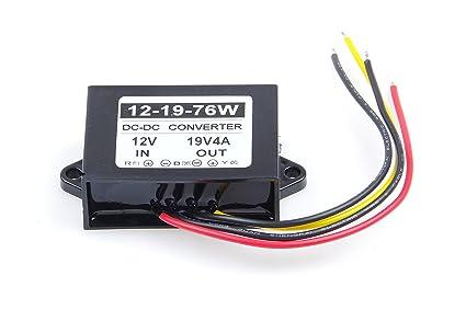 Step UP to 19V//3A Power Supply Module 10~17V SMAKN/® Waterproof DC//DC Converter 12v