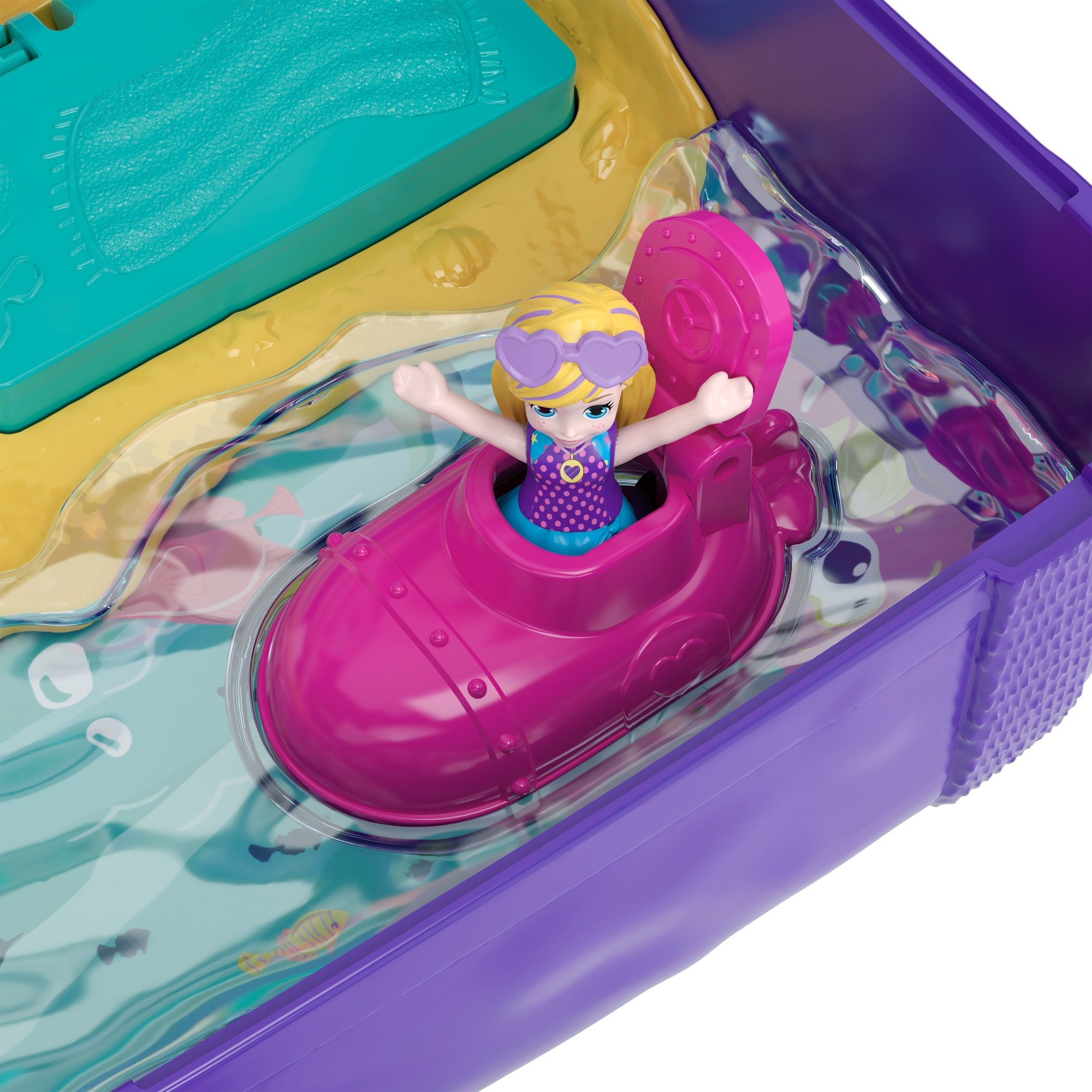 Polly Pocket Beach Vibes Figure, Multicolor by Polly Pocket (Image #4)