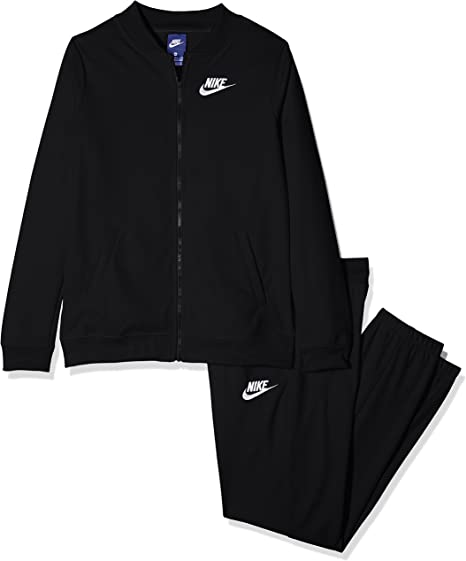 Nike G NSW Tricot, Chándal Mujer, Mujer, G NSW Tricot, Black/Black ...