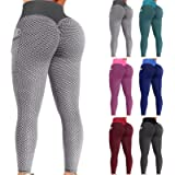 TIK Tok Leggings with Pocket, Women Fitness Sports Running Yoga Athletic Pants