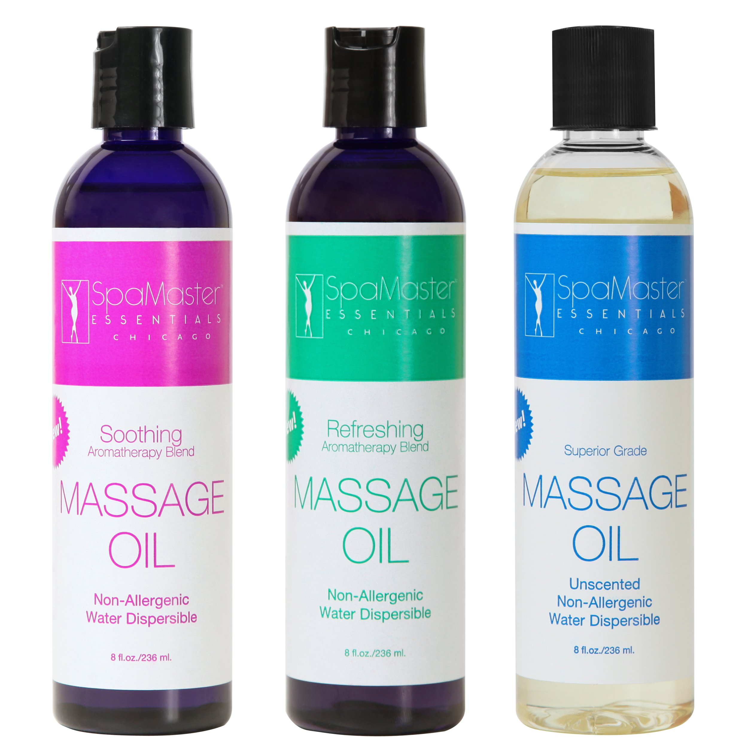Master Massage 3-Pack Aromatherapy Oil