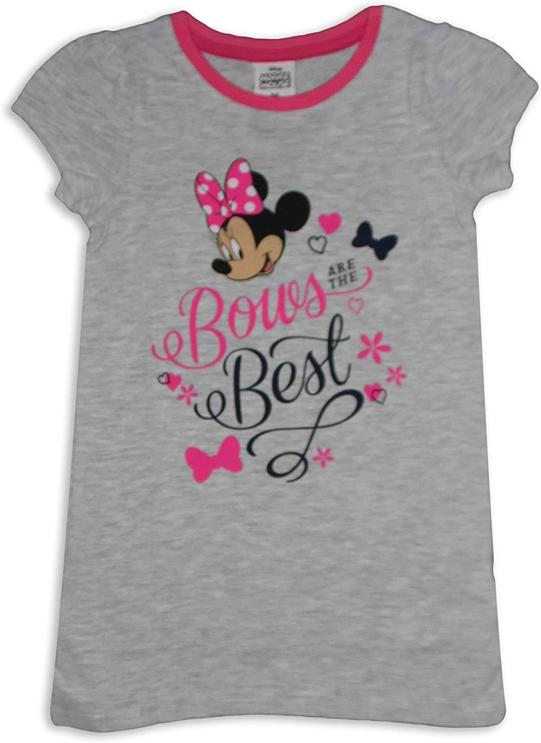 Minnie Mouse Girls Cotton Nightshirt