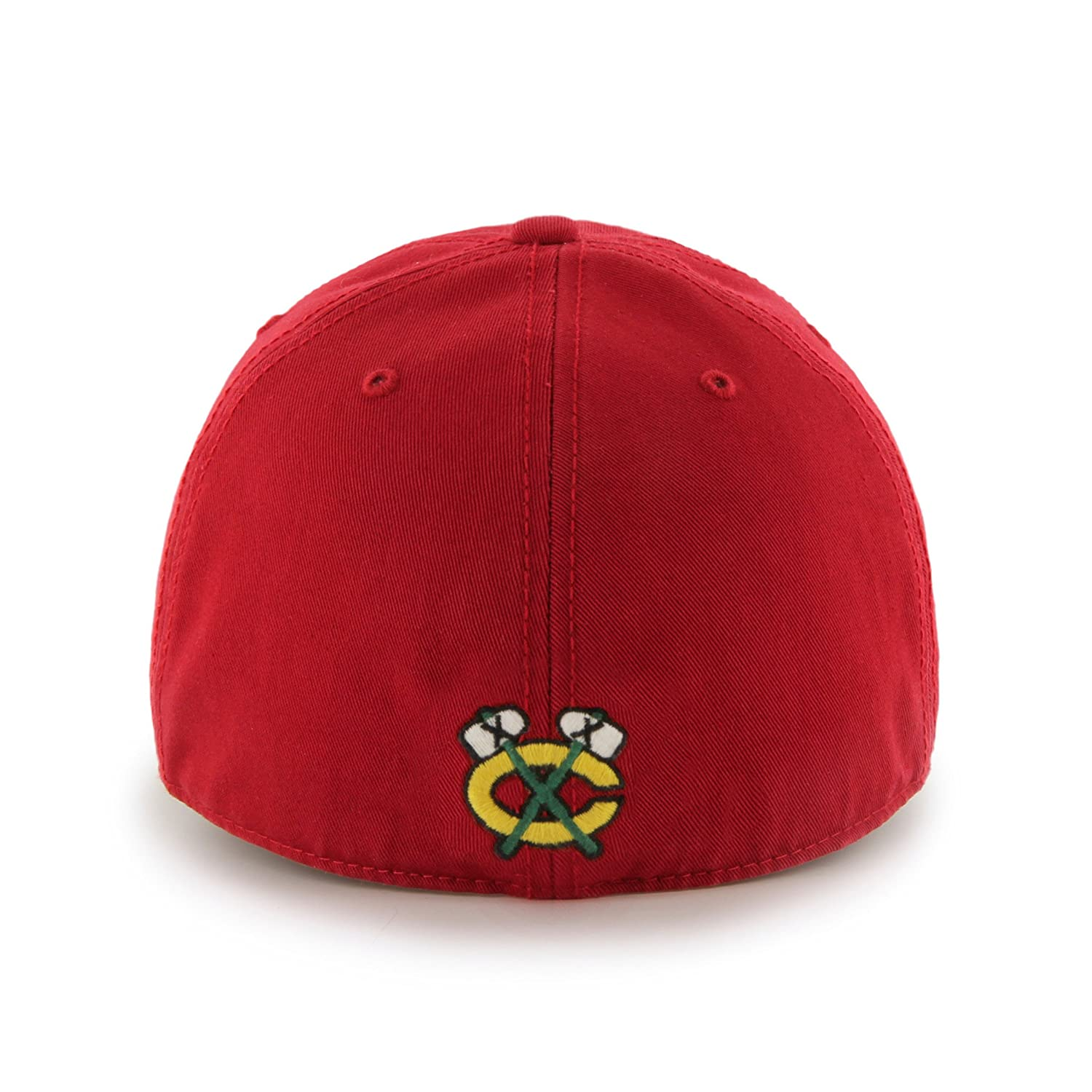 Red B NHL Chicago Blackhawks Franchise Fitted Hat XX-Large
