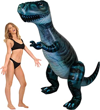 Disfraz Inflable de Dinosaurio Gigante I Love Fancy Dress ILFD 146 ...