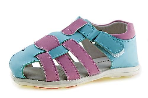 b20785dd0a48 Jabasic Kids Summer Outdoor Boys Girls Closed-Toe Strap Sandals (Toddler/Little  Kid