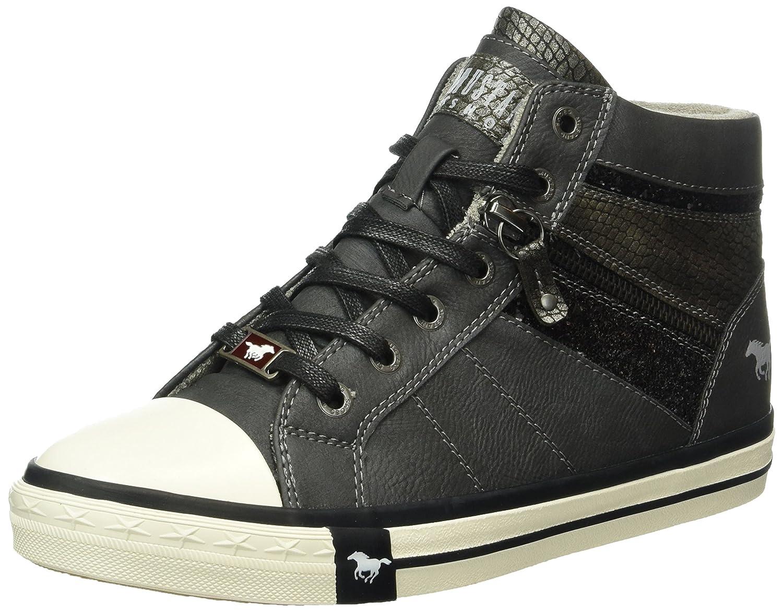 grau-Kombi 5024-508-259 Mustang Kids Girls Ankle Boots Grey,