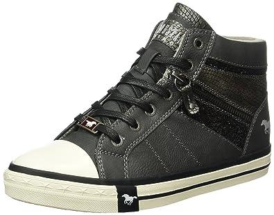 Mustang 5024-508-259, Zapatillas Altas para Niñas, Gris (Graphit), 40 EU: Amazon.es: Zapatos y complementos