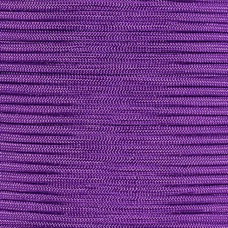 1000 Foot Spool Passion Purple 550 Paracord Rope 7 strand Parachute Cord