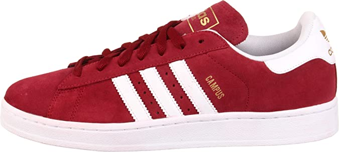buy popular 6cffa 66306 Adidas Originals Men s Campus 2 Retro Sneaker, Cardinal White Metallic  Gold, 4 D US  Buy Online at Low Prices in India - Amazon.in