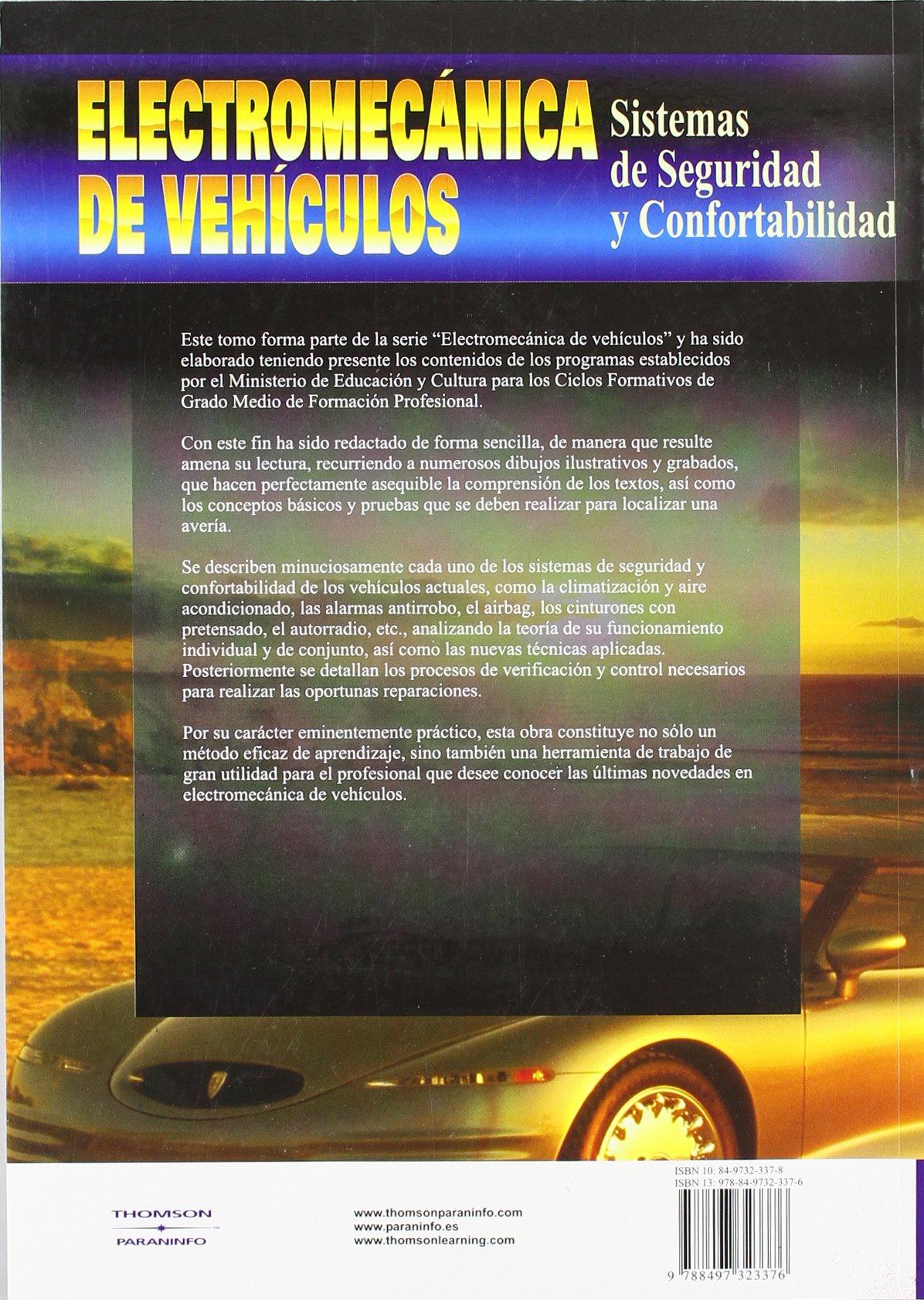 Electromecanica de Vehiculos (Spanish Edition): Jose Manuel ...