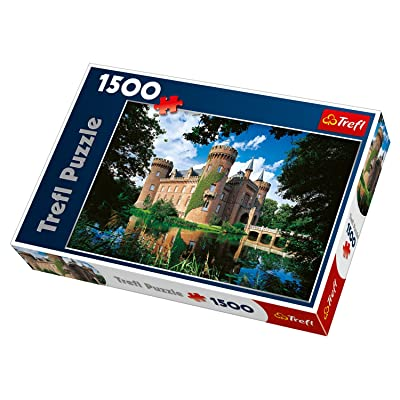 Trefl Moyland Castle Germany Jigsaw Puzzle (1500 Piece): Toys & Games