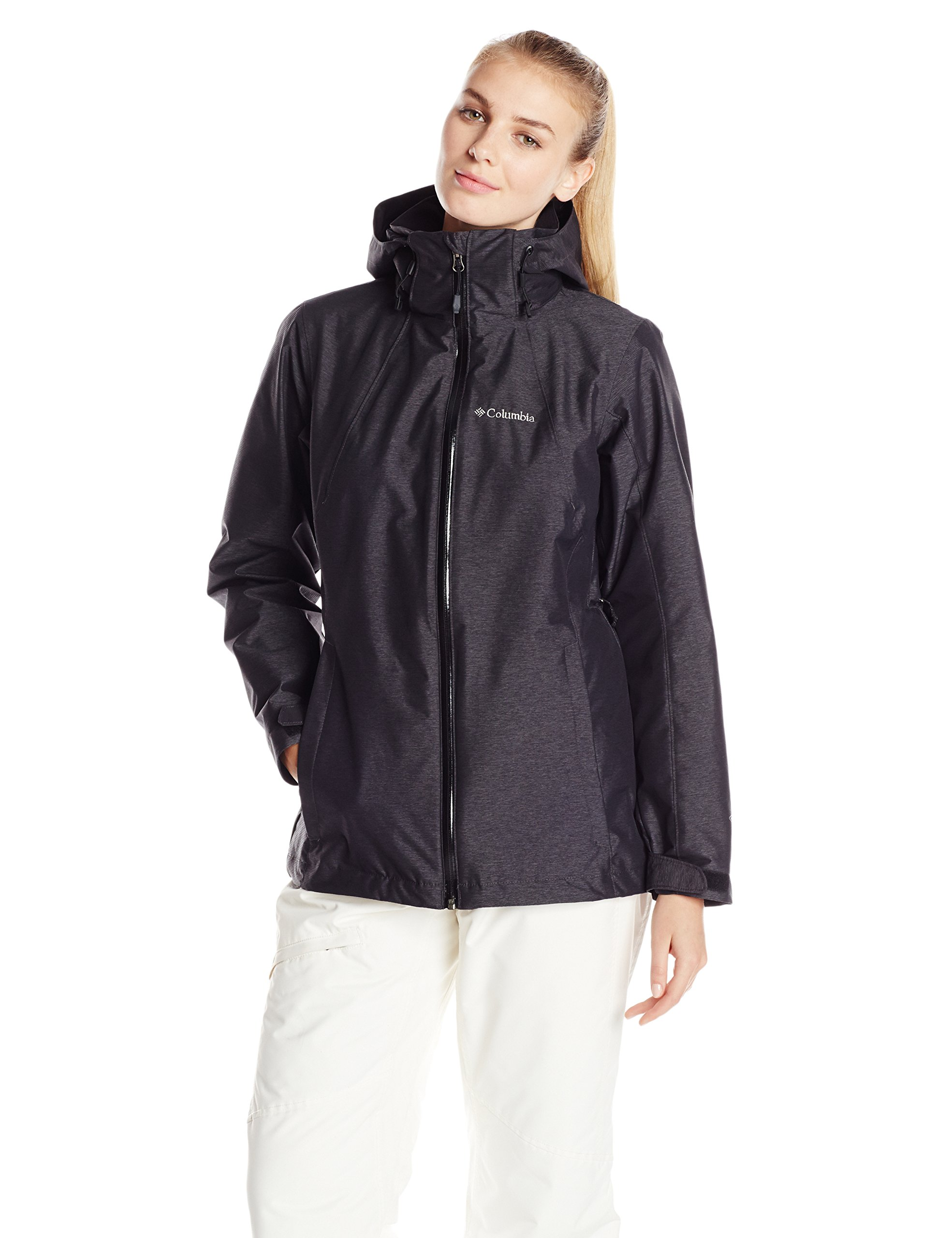 Columbia Women's Whirlibird Interchange Jacket, Black Cross Dye, Medium by Columbia (Image #1)