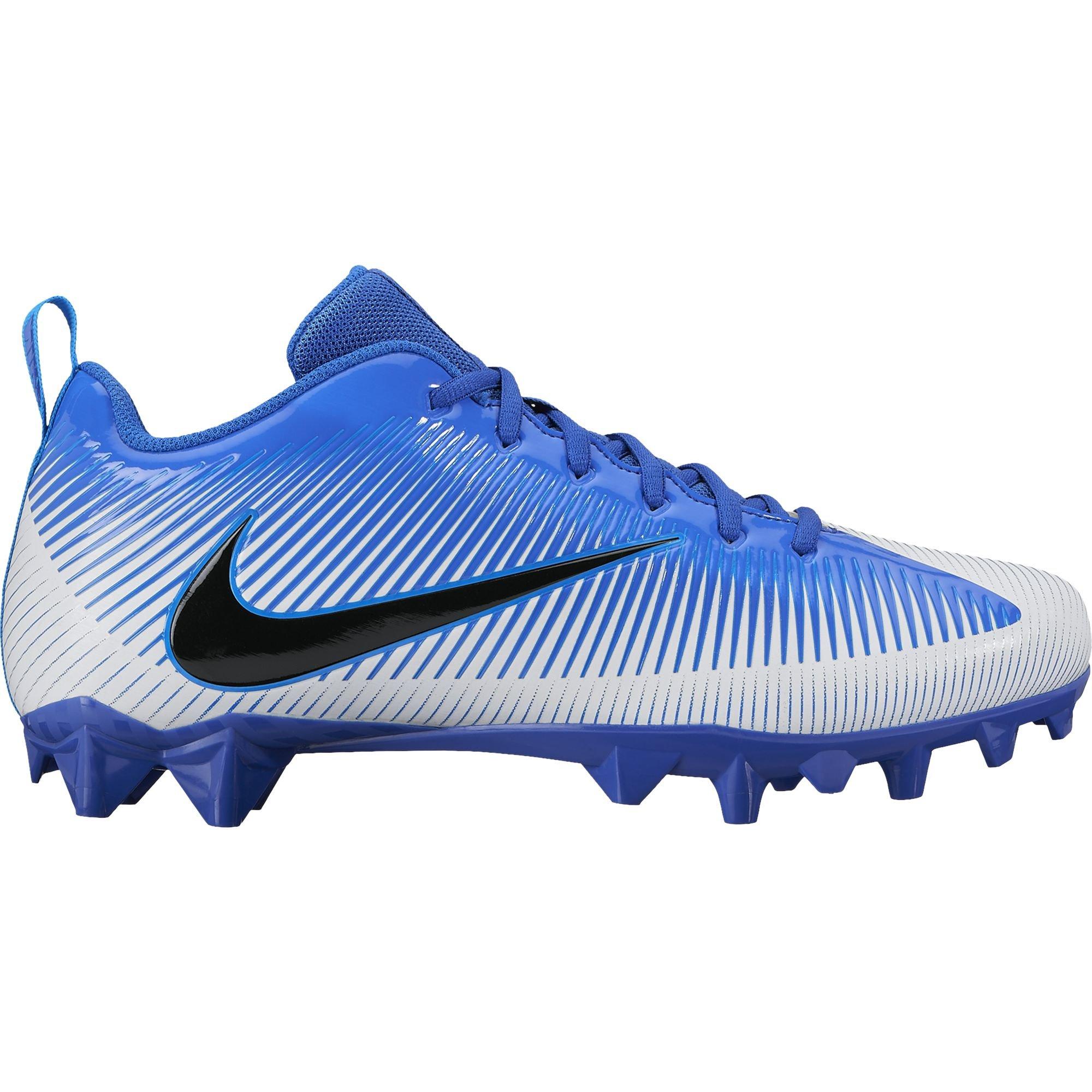 a1ac3c78b Galleon - Nike Men s Vapor Strike 5 TD Football Cleat Racer Blue White Black  Size 10.5 M US