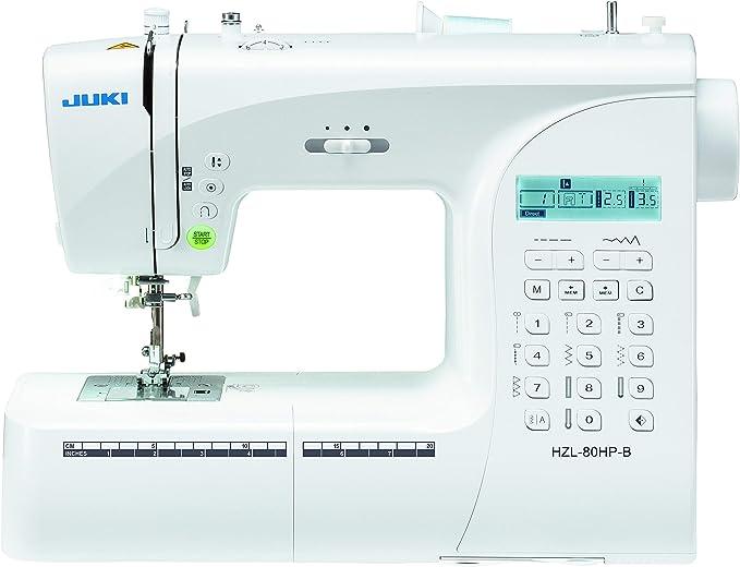 Juki HZL-80HP-B - Máquina de coser, color blanco: Amazon.es ...
