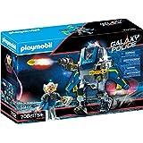 PLAYMOBIL- Policía Galáctica Robot Juguete, Multicolor (70021)